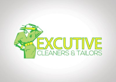 Excutive Cleaners & Tailors Logo