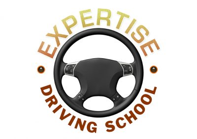Expertise Driving School Logo